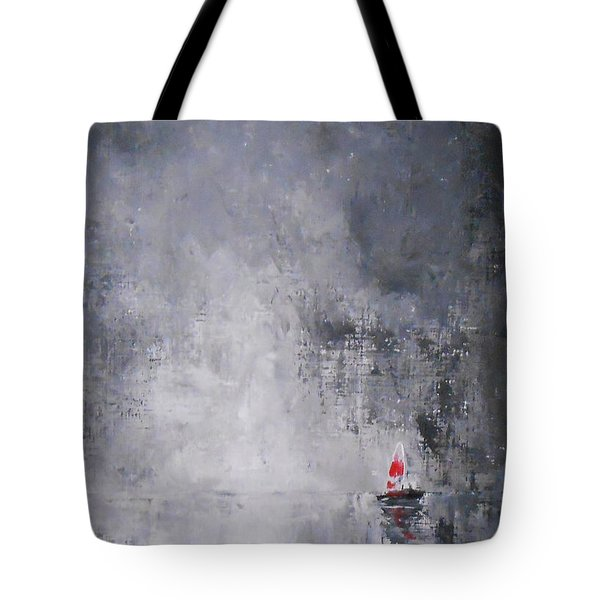 Tote Bag featuring the painting Solitude 2 by Jane  See