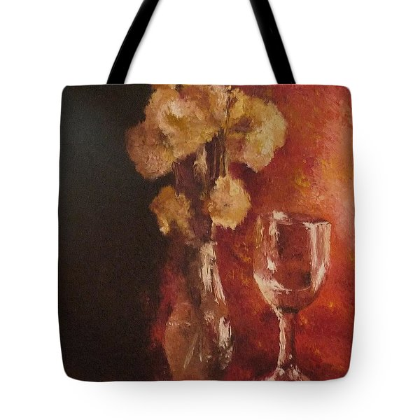 Tote Bag featuring the painting Solitude by Cherise Foster
