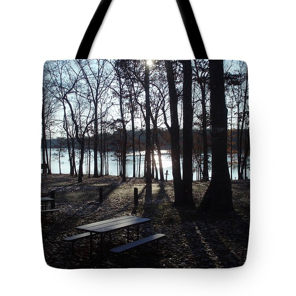 Tote Bag featuring the photograph Solitude by Fortunate Findings Shirley Dickerson