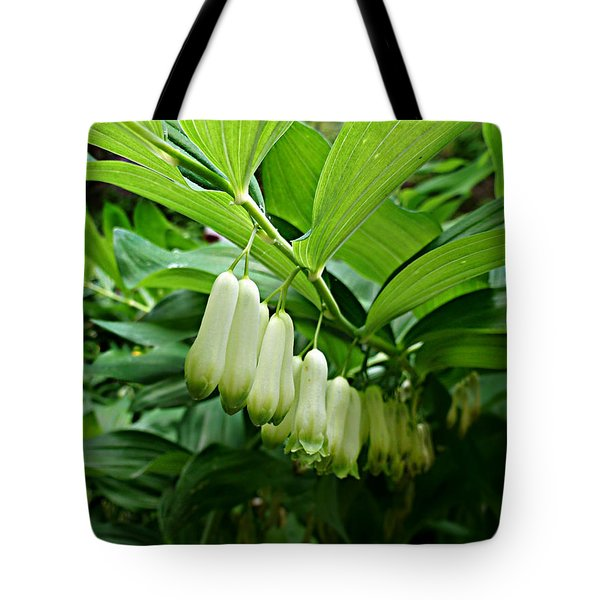 Tote Bag featuring the photograph Wild Solomon's Seal by William Tanneberger
