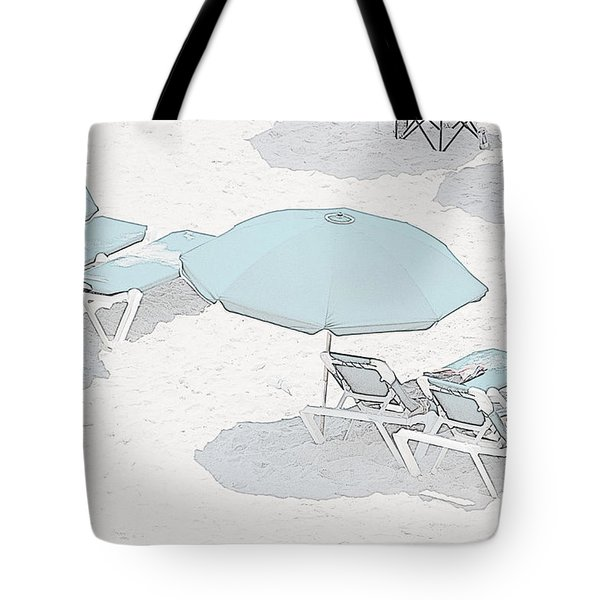 Tote Bag featuring the photograph Some Beach        Somewhere by Susan  McMenamin