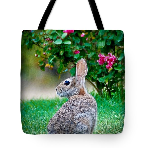 Tote Bag featuring the photograph Some Bunny Loves You by Dee Dee  Whittle