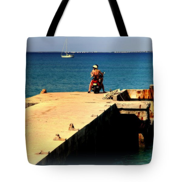 Some Day Soon Tote Bag by Karen Wiles