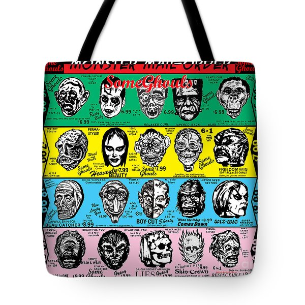 Tote Bag featuring the digital art Some Ghouls by Sasha Alexandre Keen