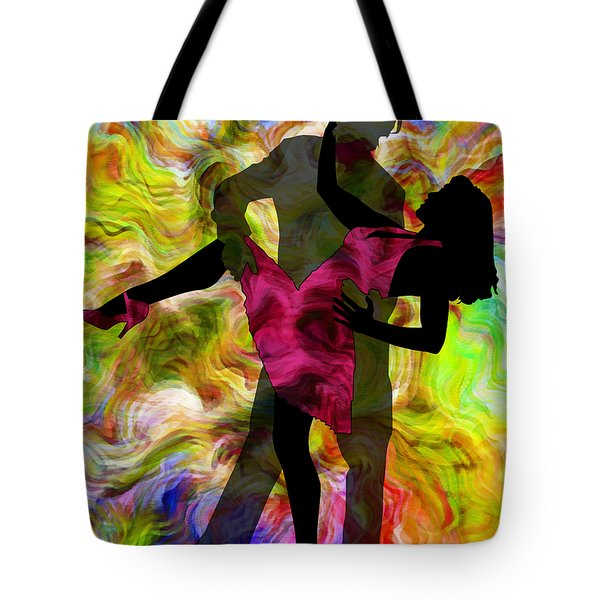 Some Like It Hot 1 Part 2 Tote Bag by Angelina Vick