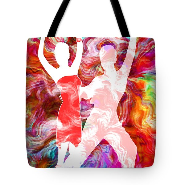 Some Like It Hot 3 Tote Bag by Angelina Vick