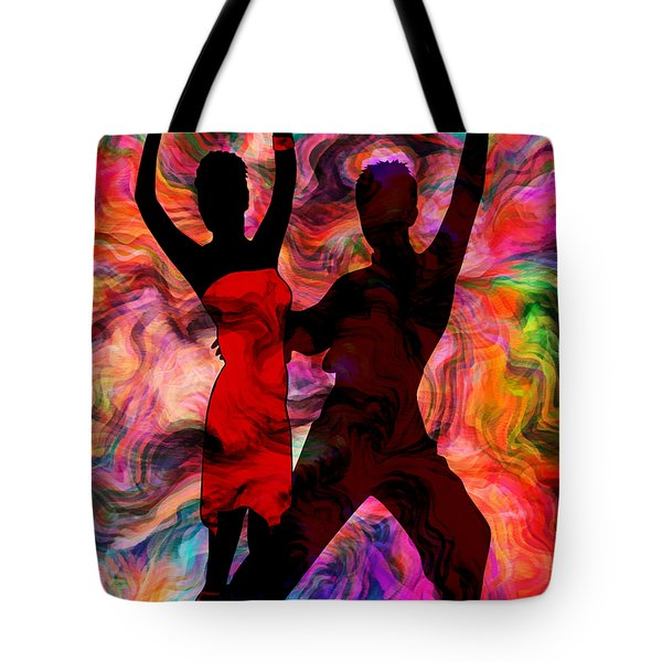 Some Like It Hot 3 Part 2 Tote Bag by Angelina Vick