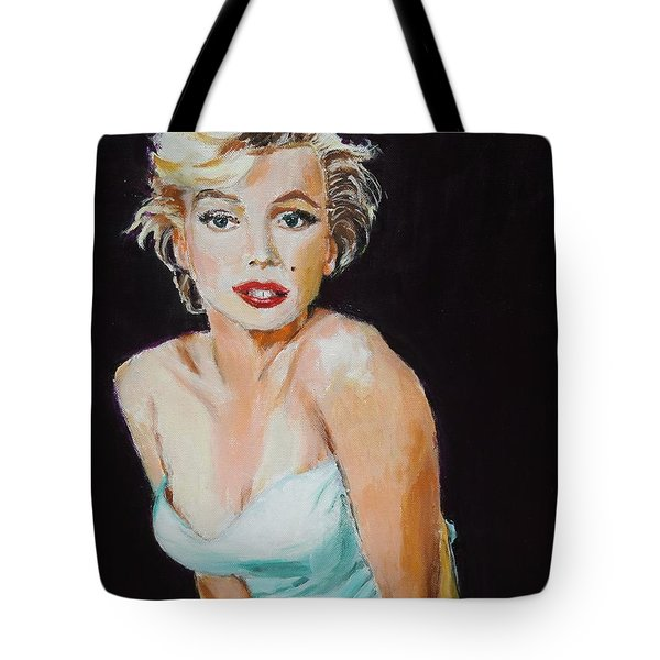 Tote Bag featuring the painting Some Like It Hot by Judy Kay