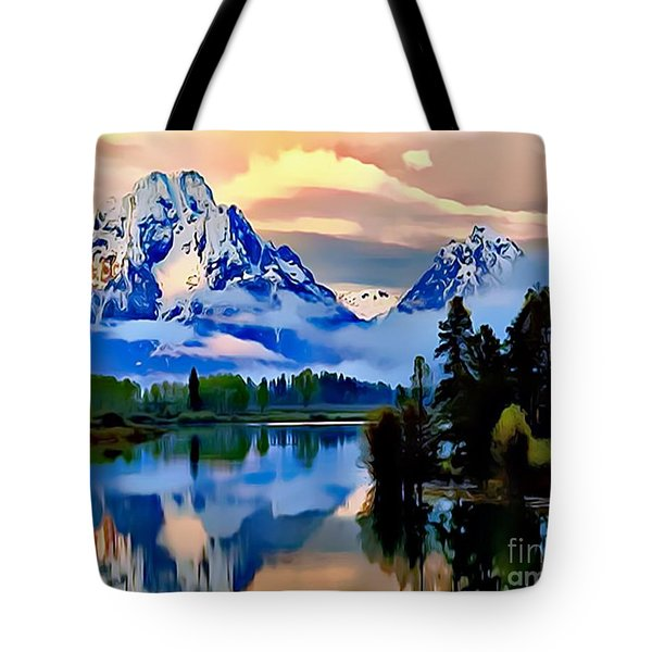 Some Place Some Where Tote Bag