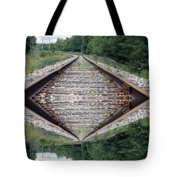 Somedays Its A Topsy Turvy Day Tote Bag by Thomas Woolworth