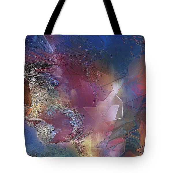 Someone Tote Bag by Francoise Dugourd-Caput