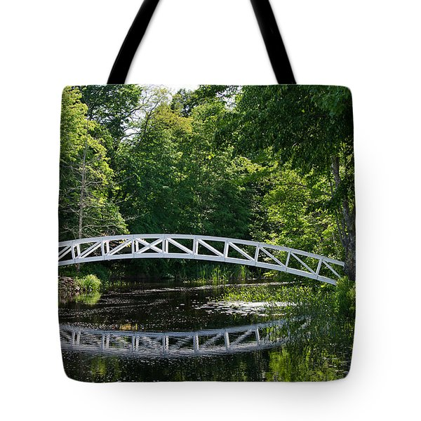Somesville Bridge Tote Bag