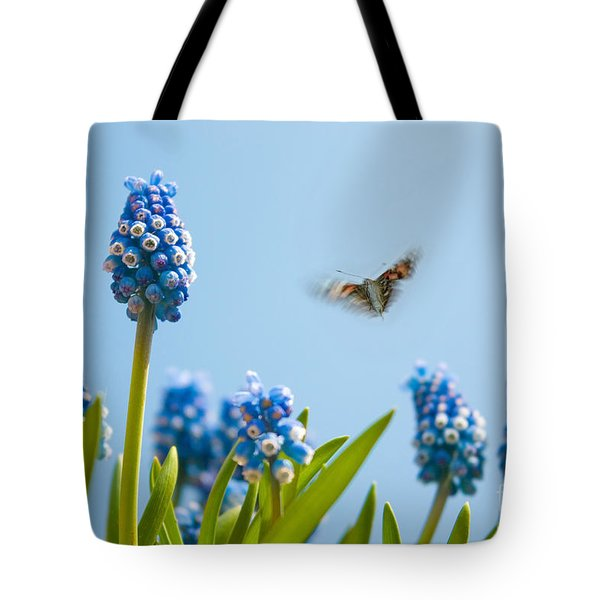 Something In The Air Tote Bag by John Edwards