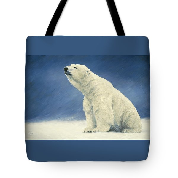 Something In The Air Tote Bag by Lucie Bilodeau