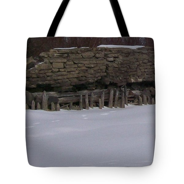 John Hinker's Coal Dock. Tote Bag