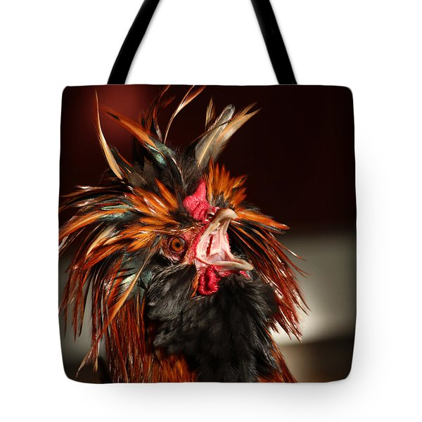 Tote Bag featuring the photograph Something To Crow About by Lynn Sprowl