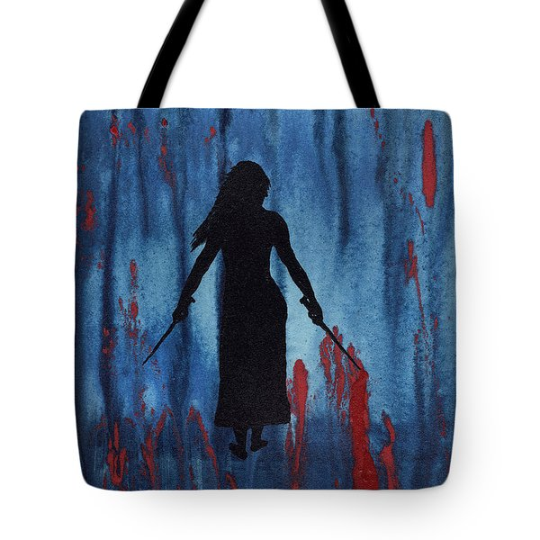 Something Wicked This Way Comes Tote Bag by Jim Stark