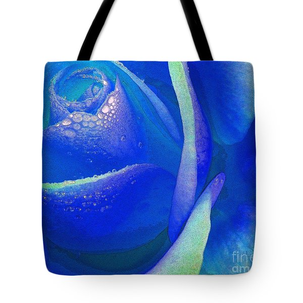 Sometimes Blue Tote Bag