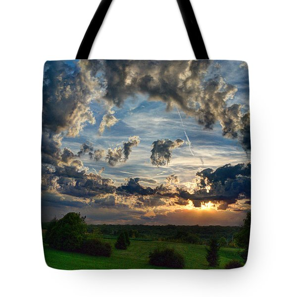 Sometimes It's All About The Clouds No.2 Tote Bag by Janice Adomeit