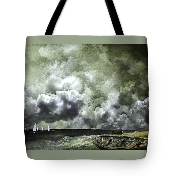 Sometimes Your Luck Runs Out Tote Bag by Jeff Burgess