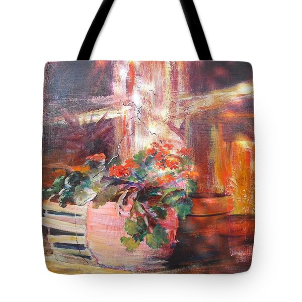 Somewhat Faded Glory Tote Bag