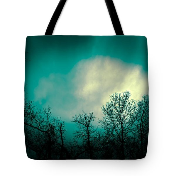 Somewhere Between Here And There Tote Bag by Bob Orsillo