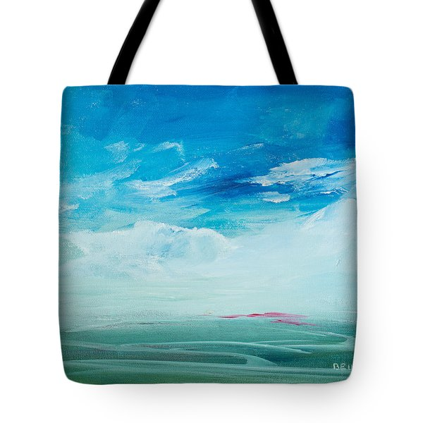 Somewhere Beyond The Sea Tote Bag by Lee Beuther