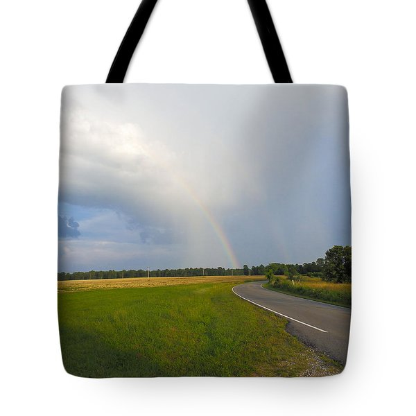 Somewhere Under The Rainbow Tote Bag by Nick Kirby