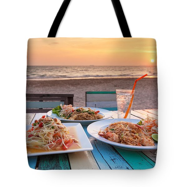 Somtum Pad Thai Tote Bag