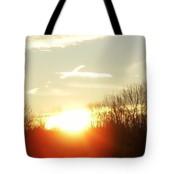 Son Above The Sun Tote Bag by Nick Kirby