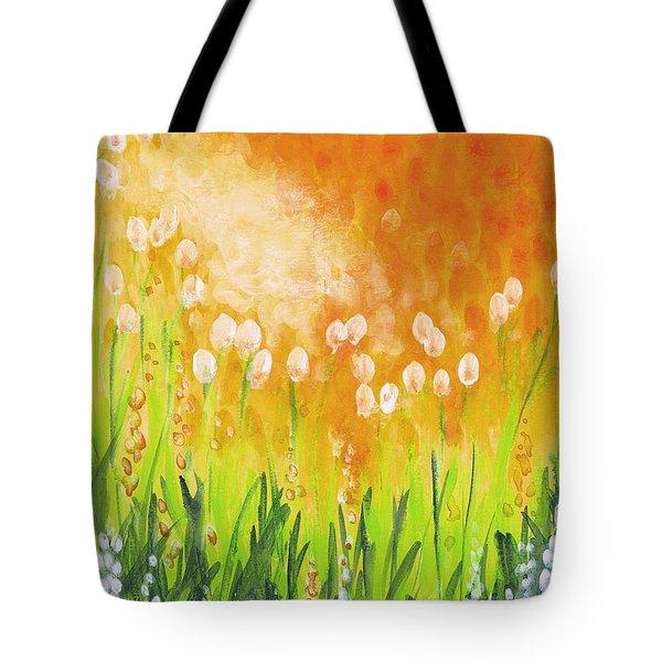 Sonbreak Tote Bag by Holly Carmichael