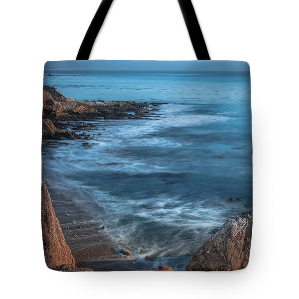 Song At The End Of Day--- Shell Beach Tote Bag by Tim Bryan