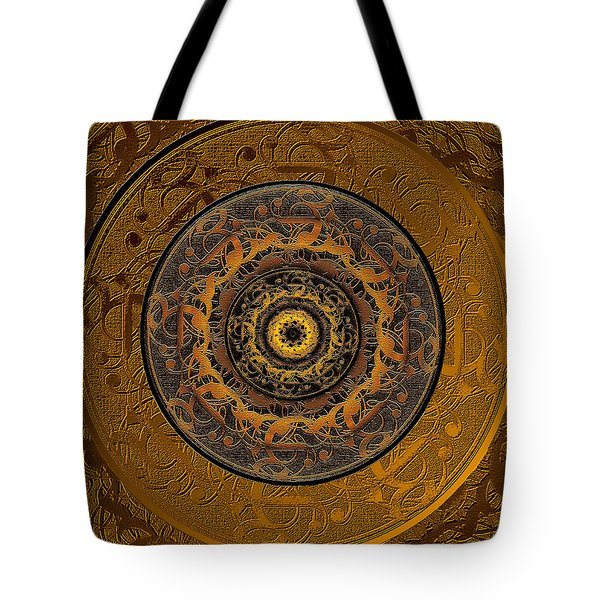 Song Of Heaven Mandala Tote Bag