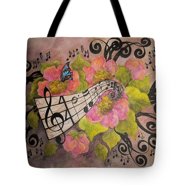 Song Of My Heart And Soul Tote Bag