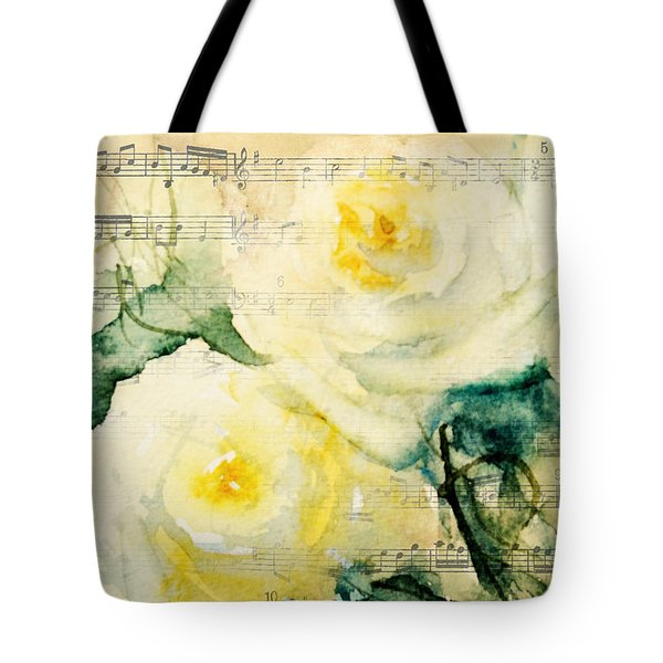 Song Of Roses Tote Bag