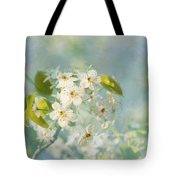 Song Of Spring Tote Bag by Kim Hojnacki