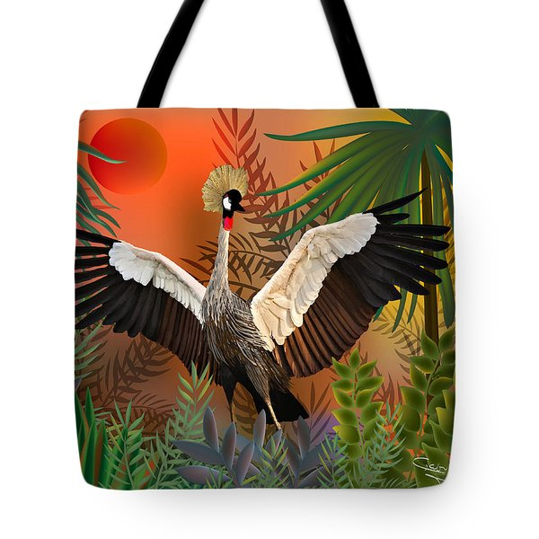 Songbird - Limited Edition 2 Of 20 Tote Bag by Gabriela Delgado