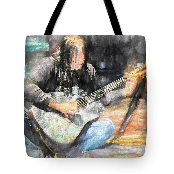 Songs From The Street Tote Bag by Bob Orsillo