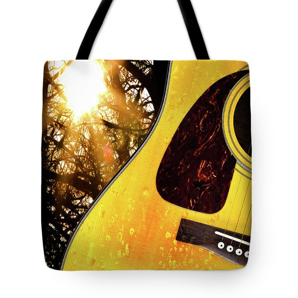 Songs From The Wood Tote Bag
