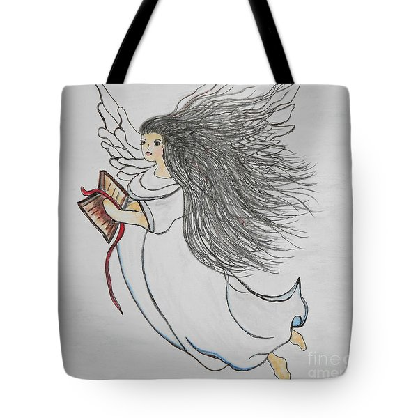Songs Of Angels Tote Bag by Eloise Schneider