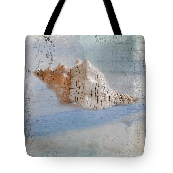 Songs Of The Sea Tote Bag by Betty LaRue