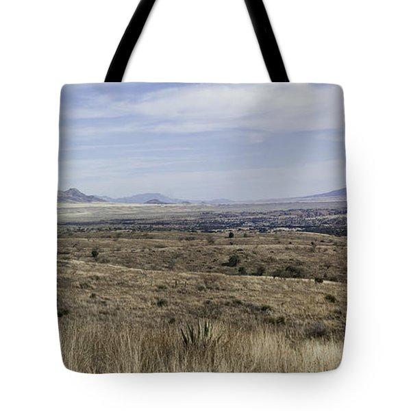 Tote Bag featuring the photograph Sonoita Arizona by Lynn Geoffroy