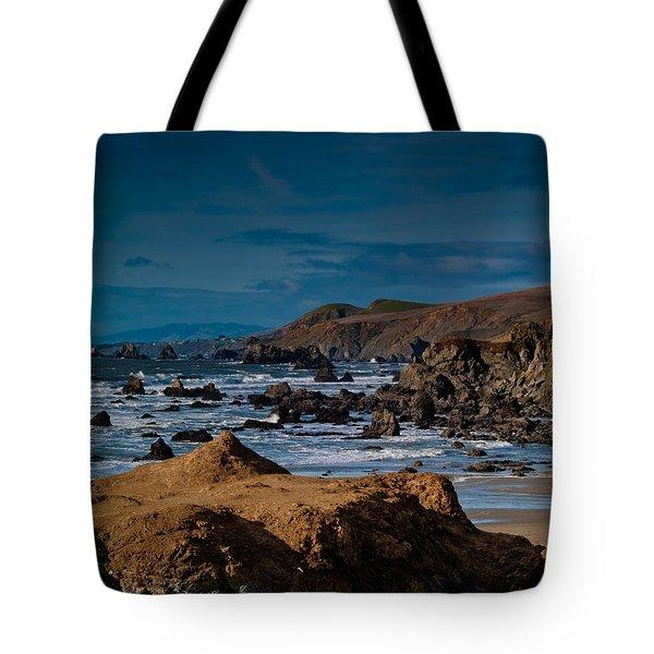 Sonoma Coast Tote Bag by Bill Gallagher