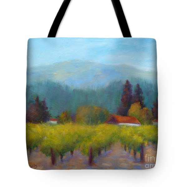 Sonoma Valley View Tote Bag