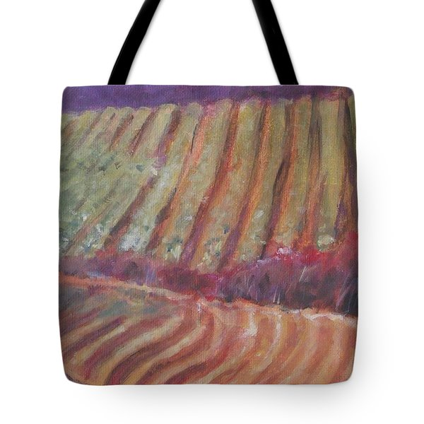 Sonoma Vines Tote Bag by Mary Hubley