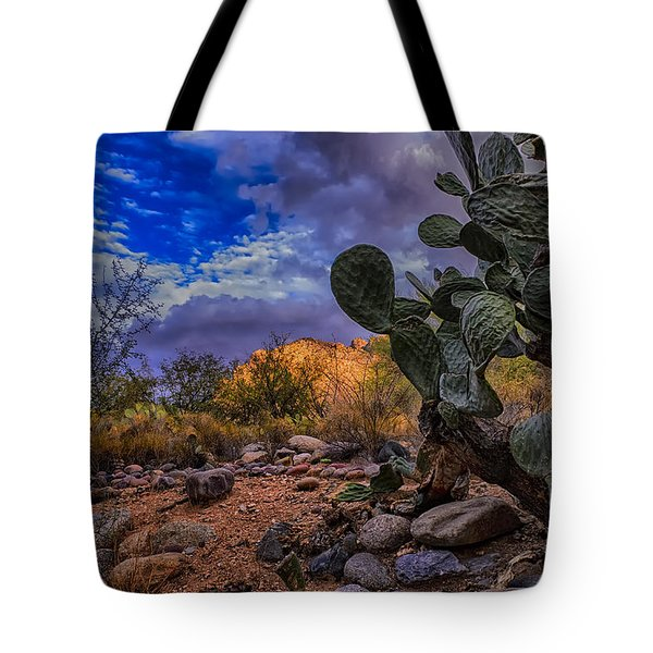 Sonoran Desert 54 Tote Bag by Mark Myhaver
