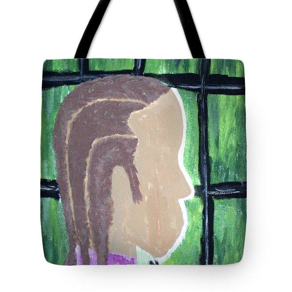 Abstract Man Art Painting  Tote Bag