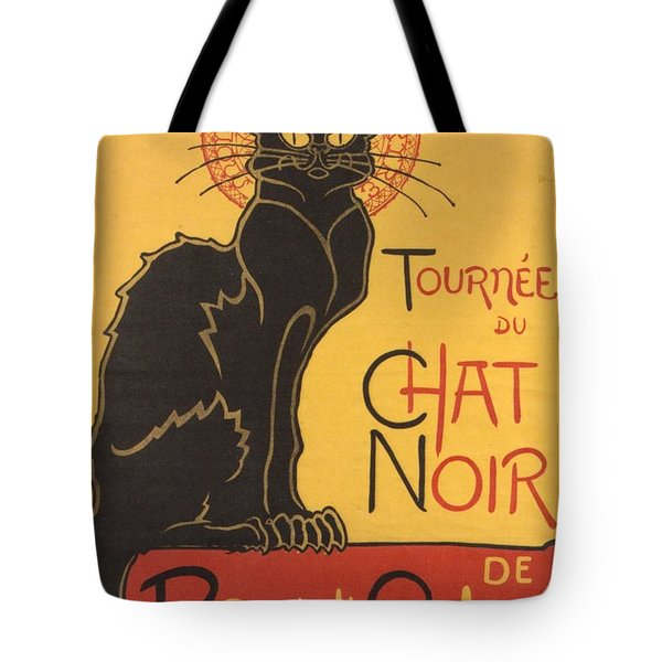 Soon The Black Cat Tour By Rodolphe Salis  Tote Bag