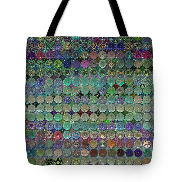 Soon The Dark Cloud Will Be Gone And Life Will Be Glass Ornaments Tote Bag