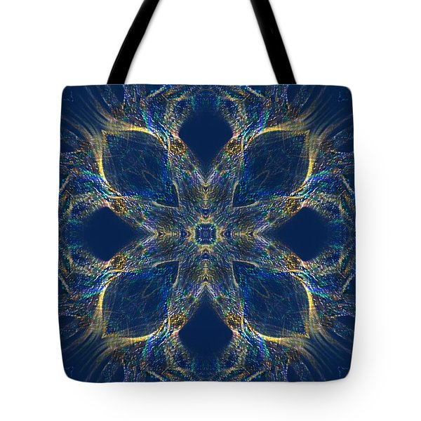 Tote Bag featuring the digital art Soothing Art  - The Flower Of Good By Rgiada by Giada Rossi